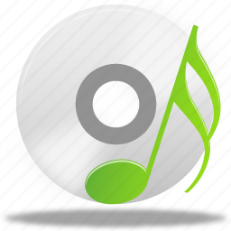 audio, disc, music, note, play, sound icon