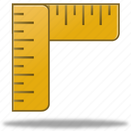 calculate, calculator, education, learning, math, measure, ruler, rulers, school, student, study, training icon