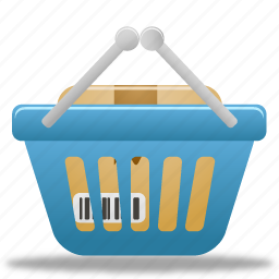 basket, business, buy, cart, ecommerce, full, online, product, shopping, webshop icon