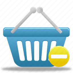 basket, business, buy, cart, ecommerce, finance, prohibit, shopping, webshop icon