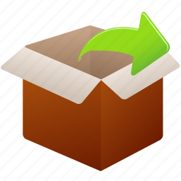 box, business, buy, delivery, ecommerce, gift, online, package, present, product, shipment, shipping, shopping, uncompress icon
