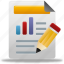bar, business, chart, charts, custom, diagram, edit, finance, financial, graph, report, reports, statistics icon