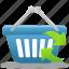 basket, business, buy, cart, ecommerce, refresh, shopping, webshop icon