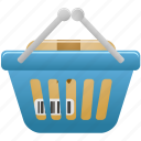 basket, full, shopping icon