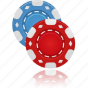 chips, gambling, poker, casino, cards, game, playing cards, hazard
