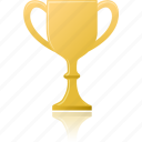 award, cup, game, gold, prize, winner icon