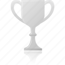 award, cup, prize, silver, winner icon