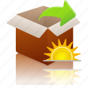 extract, changes, today icon
