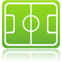 ball, field, football, pitch, play, soccer, sport, training icon