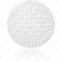 ball, golf, sport, training icon