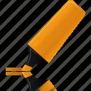 orange, highlightmarker, marker, highlight