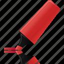highlightmarker, red, edit, marker, hightlight