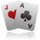 card, hazard, playing card, playing cards, playingcards, poker icon
