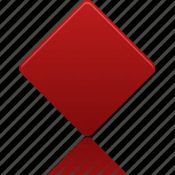 card, diamond, diamonds, hazard, poker icon