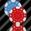 cards, casino, chips, gambling, game, hazard, playing cards, poker icon