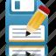 as, disk, download, downloads, drive, edit, floppy, guardar, save, storage icon