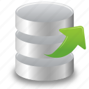 data, database, extract, object, stock, storage icon