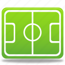 football, sport, pitch, soccer, play, ball, training, exercise, player icon