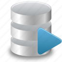 data, database, runner, sql, storage icon