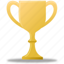 trophy, gold, winner, medal, prize, award, reward icon
