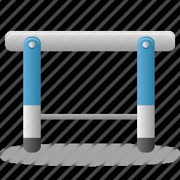hurdle, play, sport, training icon