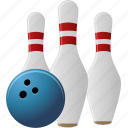 bowling, play, sport, tenpin, tenpins, throw icon