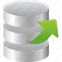 object, extract, data, database