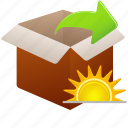 change, changes, extract, today icon