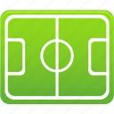 ball, filed, football, pitch, play, soccer, sport, training icon