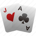 card, gamble, gambling, game, hazard, playing card, playing cards, playingcards, poker icon