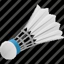 ball, exercise, fitness, play, shuttlecock, sport, training icon