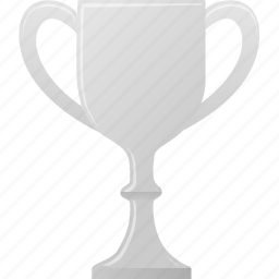 award, cup, metal, prize, silver, winner icon