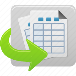 document, documents, file, files, generate, report, reports, tables icon