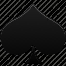 card, game, hazard, playing card, playing cards, poker, spades icon