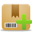 add, package icon