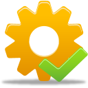 accept, process icon
