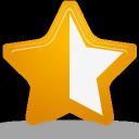 rating, star, half