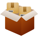 freight, packing, products, shipment, trucking icon