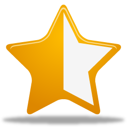 Https Www Iconfinder Com Icons 49625 Half Rating Star Icon