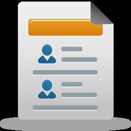 distributor, report icon