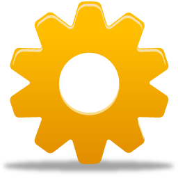 cog, gear, preferences, settings, wheel icon