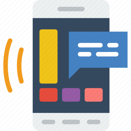 app, communication, file, interaction, message, phone icon