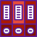 app, binders, communication, file, interaction icon