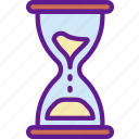 app, communication, file, hourglass, interaction icon