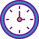 app, clock, communication, file, interaction icon