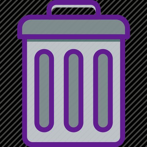 app, communication, file, interaction, trash icon