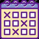 app, calendar, communication, file, interaction icon