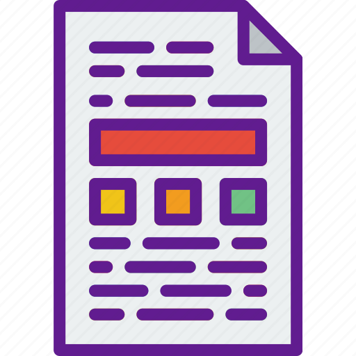 app, communication, file, interaction icon