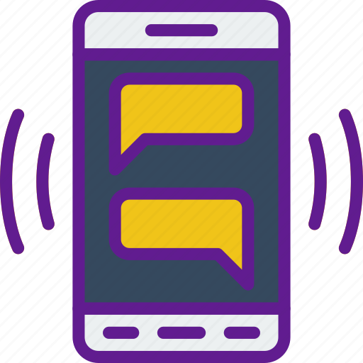 app, chat, communication, file, interaction, phone icon