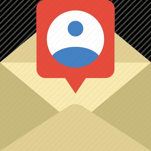 app, communication, envelope, file, interaction, message icon